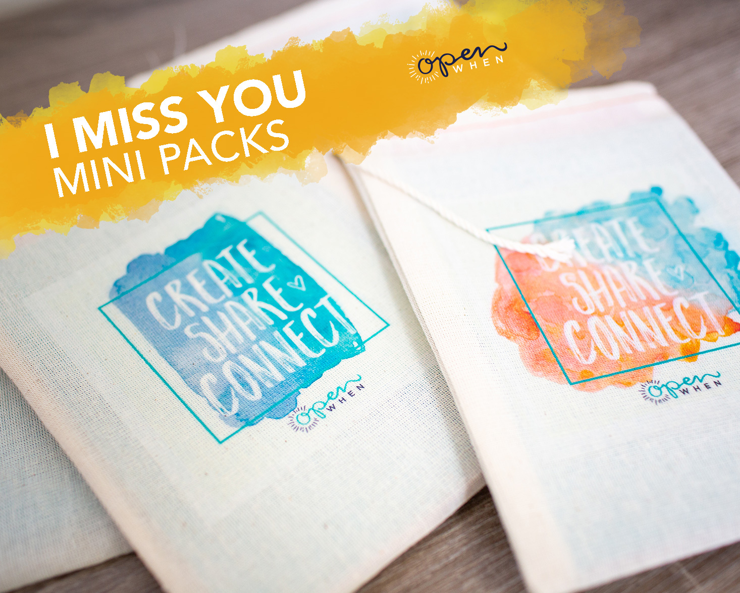 i miss you open when letters gift pack
