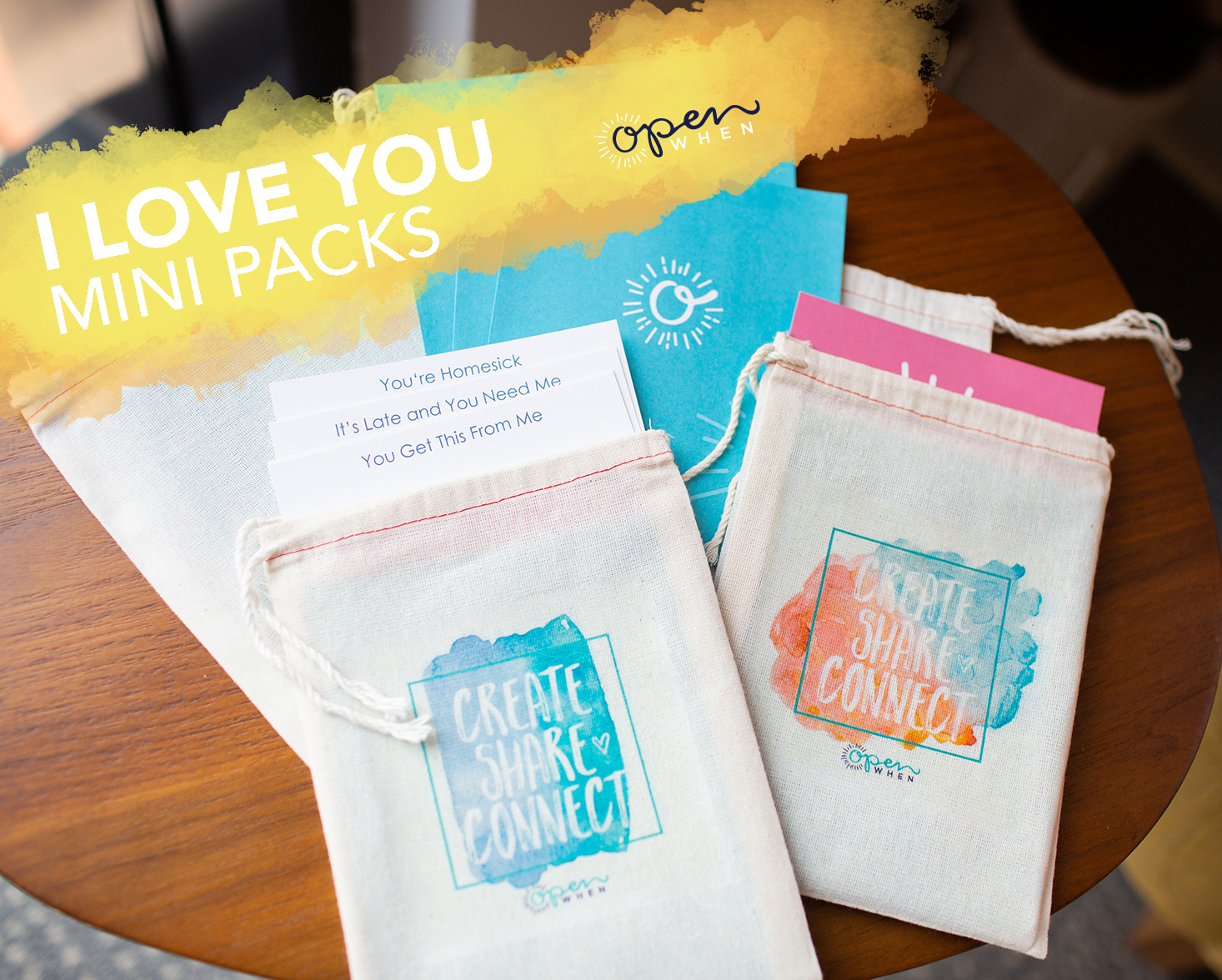 i love you open when letters gift pack